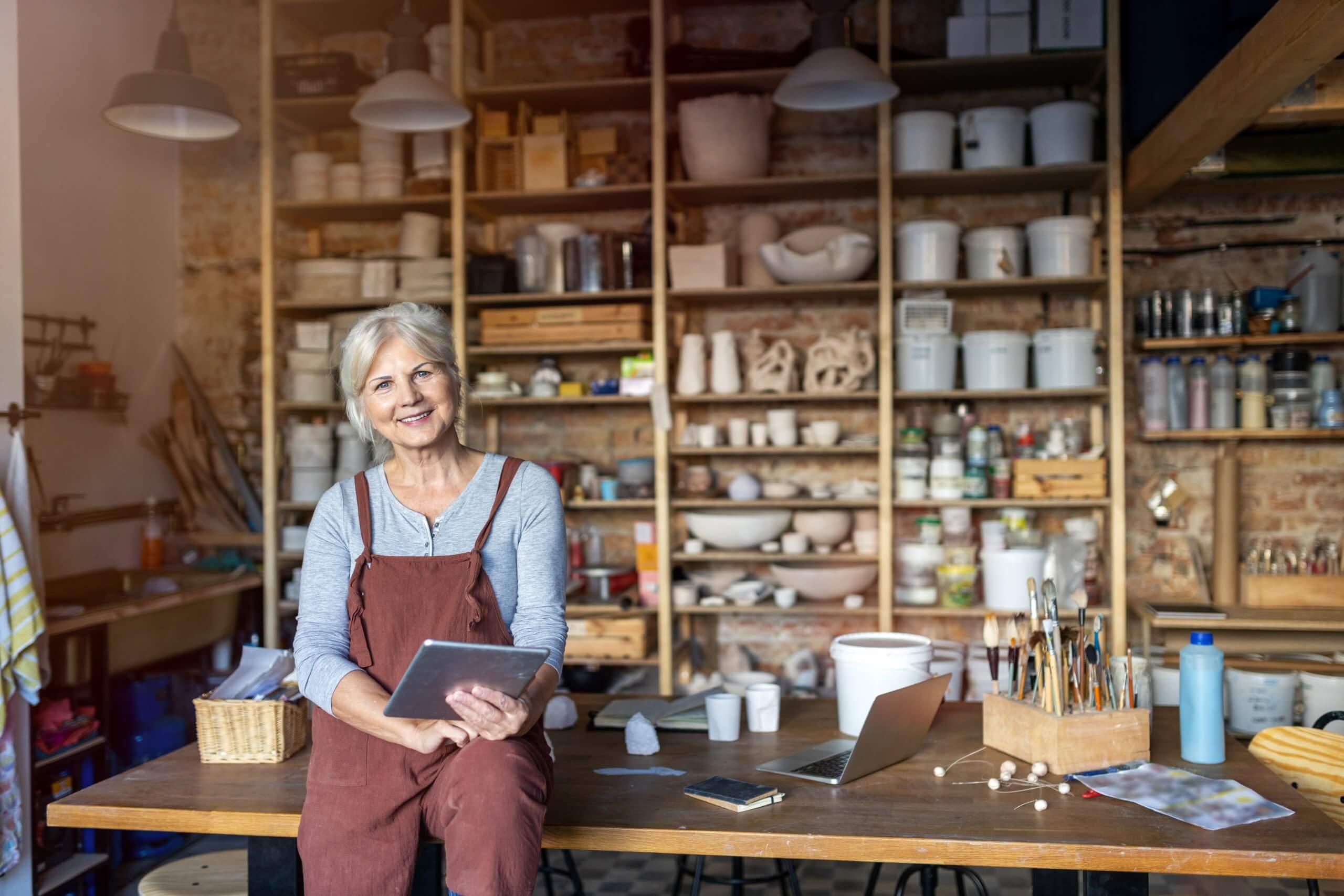 Geschäftsmodell für Frauen, c: Shutterstock